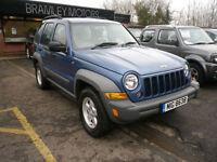 2005 Jeep Cherokee 2.8TD ( 161bhp ) 4X4 Sport * EXCELLENT * LOW MILEAGE *