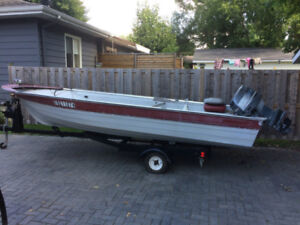 16' Fishing Boat   30Hp Outboard