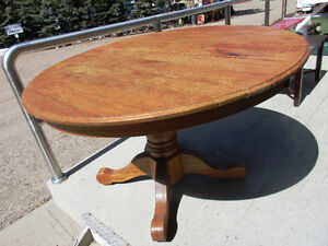 Oak table $125.00