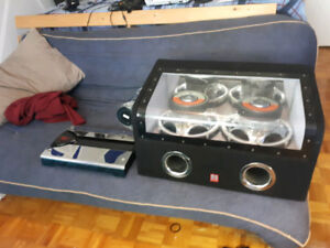 Theather Reaserch Subwoofer TR-9500 AND Amplifier