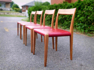 Vintage Mid century Danish Chairs