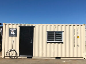 Portable Office Shipping Container