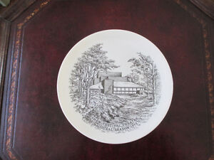 Vintage Wedgwood China Plate - Shaw Festival