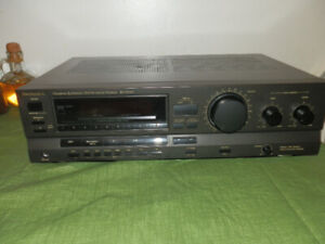 Technics SA GX100 receiver with AM Loop Antenna