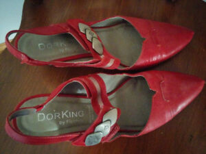 Souliers rouges DORKING by Fluchos talons moyens 41 Medium