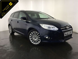 2012 62 FORD FOCUS TITANIUM X TDCI DIESEL 1 OWNER SERVICE HISTORY FINANCE PX