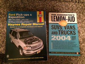 Lemon-aid book and FORD reference