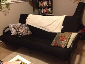 Black Futon - Like New