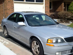 REDUCED - 2001 Lincoln LS V8 Sedan