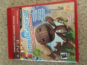 Jeu PlayStation3 Little big Planet -Game of the year édition