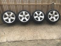 "17"" Audi rs6 alloys for sale 5x112"