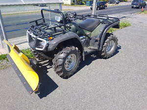 2005 Honda Rubicon 500 with New Plow!!