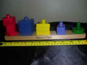 All wood toys for sale.  Melissa and Doug  , Ikea,    Discoveroo
