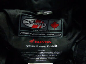Women's Med. Honda Racing jacket    recycledgear.ca Kawartha Lakes Peterborough Area image 3