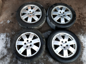 "Set of Ford Alloy Wheels & Good Tyres 16"" - Mondeo, Focus, C Max etc"