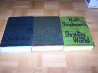 NEAL STEPHENSON - BAROQUE CYCLE - 3 -1st edition hardcovers