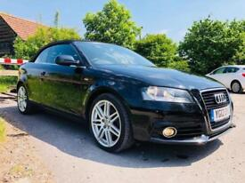 Audi A3 Cabriolet 2.0 TDI S line Convertible 2dr Diesel Manual