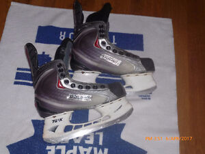 Youth Bauer Skates:   Size 3