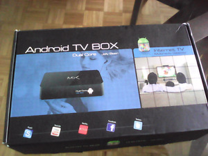 Android TV box MX with Android 4.2 Stratford