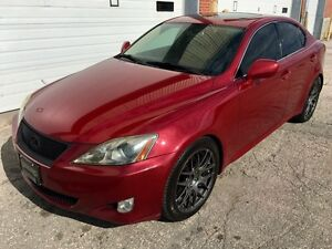 2006 Lexus IS 250, exhaust, wheels, paddle shifters, safetied!
