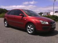 Ford Focus 1.6 ( 100ps ) 2008 Zetec Climate 84,000 miles