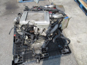 SR20DET Blue Bird Engine AWD Transmission