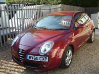 ALFA ROMEO MITO TURISMO JTDM 2010 Diesel Manual in Red