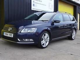 2014 (14) Volkswagen Passat 2.0 TDi 140 Executive Style Estate Diesel £30 tax