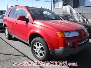 2005 SATURN VUE  4D UTILITY 2WD 6CYL