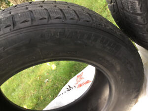 Winter tires -Michilin X-ICE, 225-55-R17, 101H, Saint-Laurent