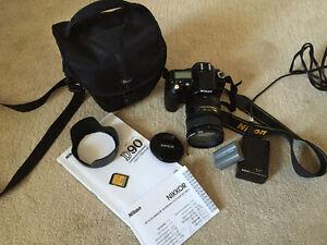Nikon D90+AF-S DX Nikkor 18-200mm (Appraised @ The Camera Store)