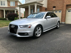 2013 Audi A4 Quattro S-Line Sedan Amazing Condition