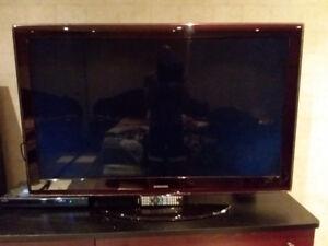 Télé 52 pouce Samsung  en parfaite état