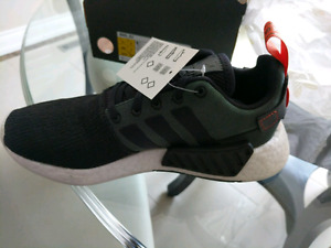 Adidas NMD_ R2 *BRAND NEW/RARE* Core Black/Future Harvest Shoes