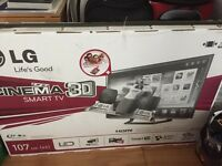 "42"" LED LG Smart Freeview Cinema 3D TV £550ono"