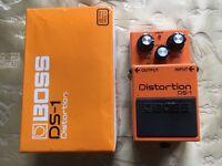 Boss DS1 Distortion Pedal guitar / keyboard