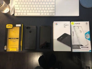GOOGLE PIXEL XL 2 128GB [LIKE NEW] ALL BLACK + EXTRAS