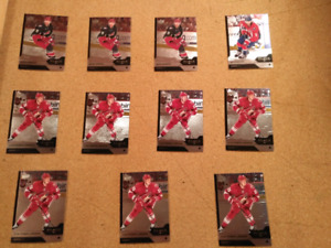Lot de cartes d'hockey Black Diamond 13-14 & 14-15