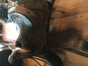 Tex Tan Ranch Saddle