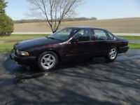1996 Chevrolet Impala SS  One Owner  PRICE REDUCED