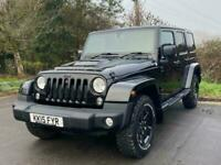 2015 Jeep Wrangler CRD BLACK EDITION II UNLIMITED Auto Convertible Diesel Automa