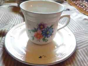 18pc cup and saucer set. $20