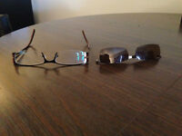 "Lunettes ""clip-on"" retrouvés/ Glasses with ""clip-ons"" found"