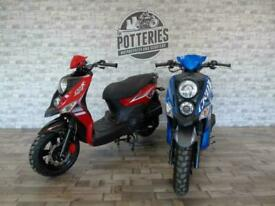 Sym Crox 125 cc Scooter 2021 learner legal