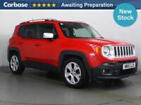 2015 JEEP RENEGADE 1.6 Multijet Limited 5dr SUV 5 Seats