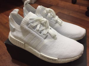 DEADSTOCK Adidas Triple White Japan NMDs size 10.5
