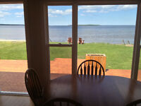 Oceanfront cottage on Cocagne Bay, in Grande-Digue, near Shediac