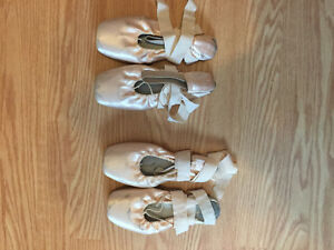 Pointe shoes All broke in :) have a size 6 and 6.5 in women's