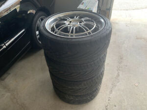 17 inch Rims and tires for sale