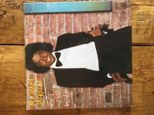MICHAEL JACKSON Off the Wall vinyl record album for sale / trade